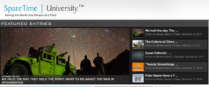 SpareTimeUniversity Website